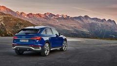 Audi Q5 Sportback 2021: i fari full LED sono i serie, e dietro i fanali con tecnologia OLED