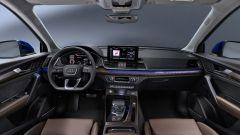 Audi Q5 Sportback 2021: la plancia