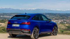 Audi Q5 Sportback PHEV: il taglio discendente del tetto definisce lo stile della Q5 Sportback