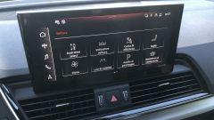 Audi Q5 Sportback PHEV: il touchscreen da 10,1