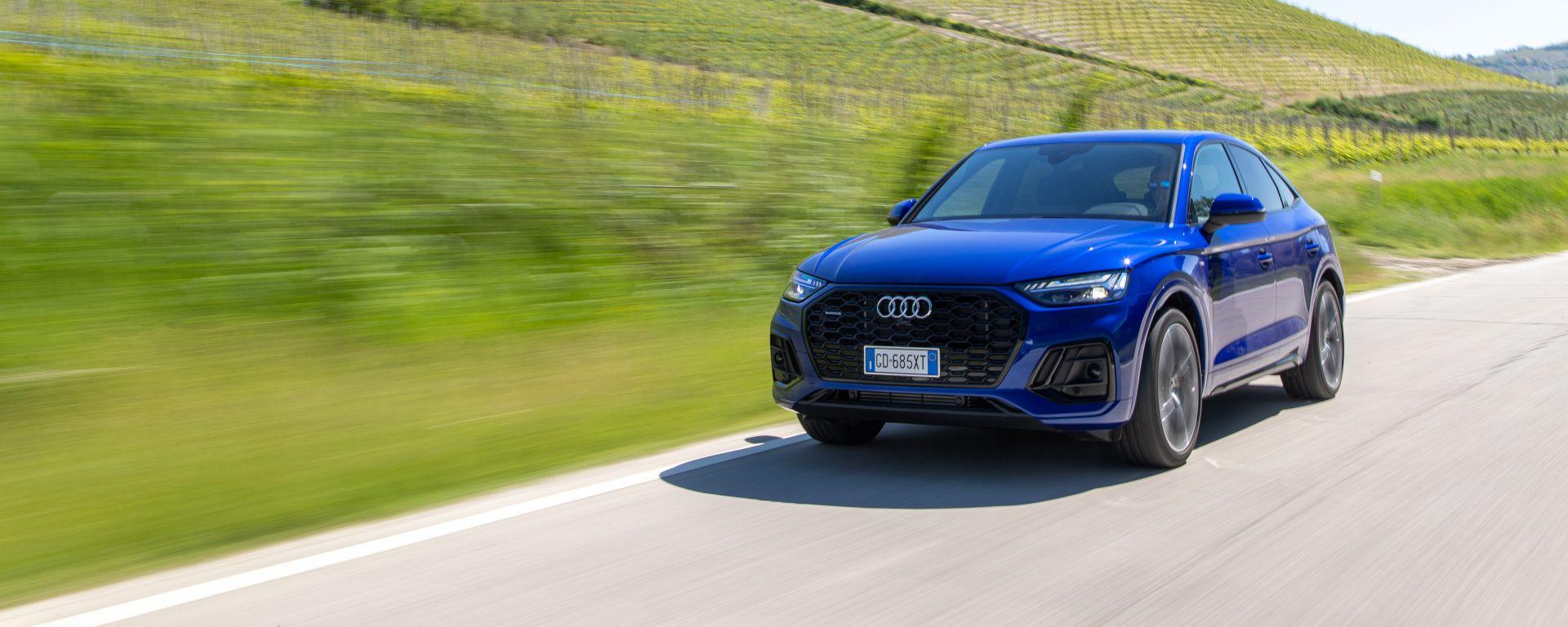 Audi Q5 Sportback PHEV: la prova della versione più potente