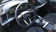 Audi Q5 Sportback PHEV: sedili sportivi in pelle/Alcantara e plancia super moderna