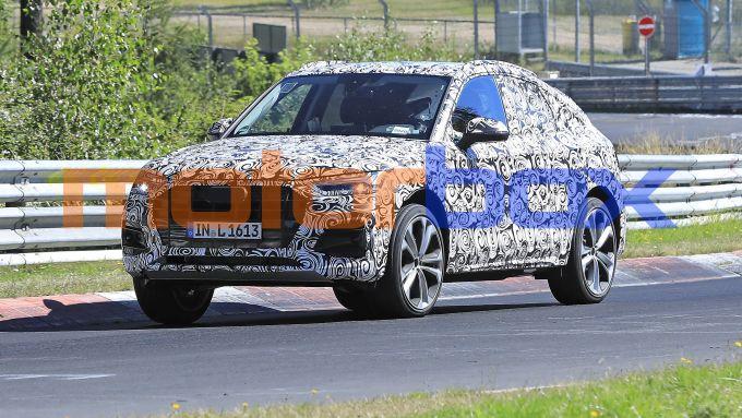Audi Q5 Sportback, prime foto spia