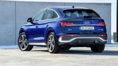 Audi Q5 Sportback TFSI e: visuale di 3/4 posteriore