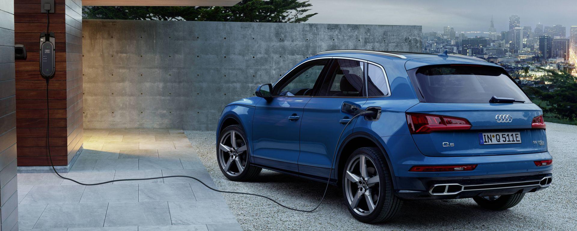 Audi Q5 TFSI e quattro, il Suv diventa plug-in hybrid