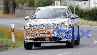 Audi Q6 e-tron: prime foto spia