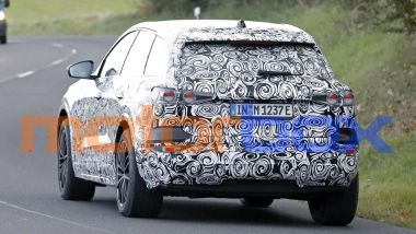 Audi Q6 e-tron: visuale posteriore