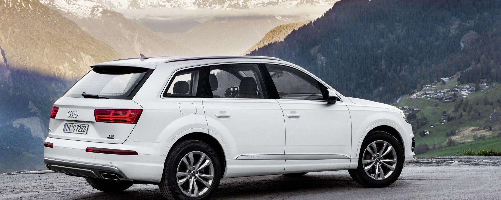 """Audi Q7 2015: un nuovo motore """"entry level"""""""