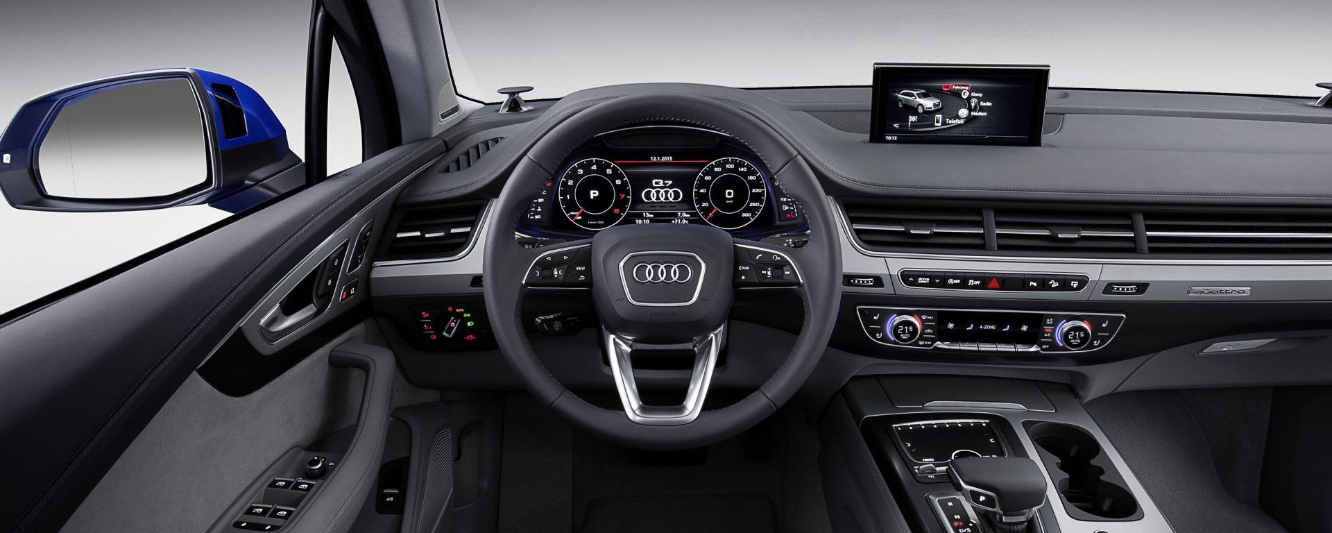 Audi Q7 2015: i segreti dell'MMI Plus