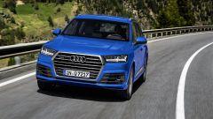 Audi Q7 2019: vista frontale