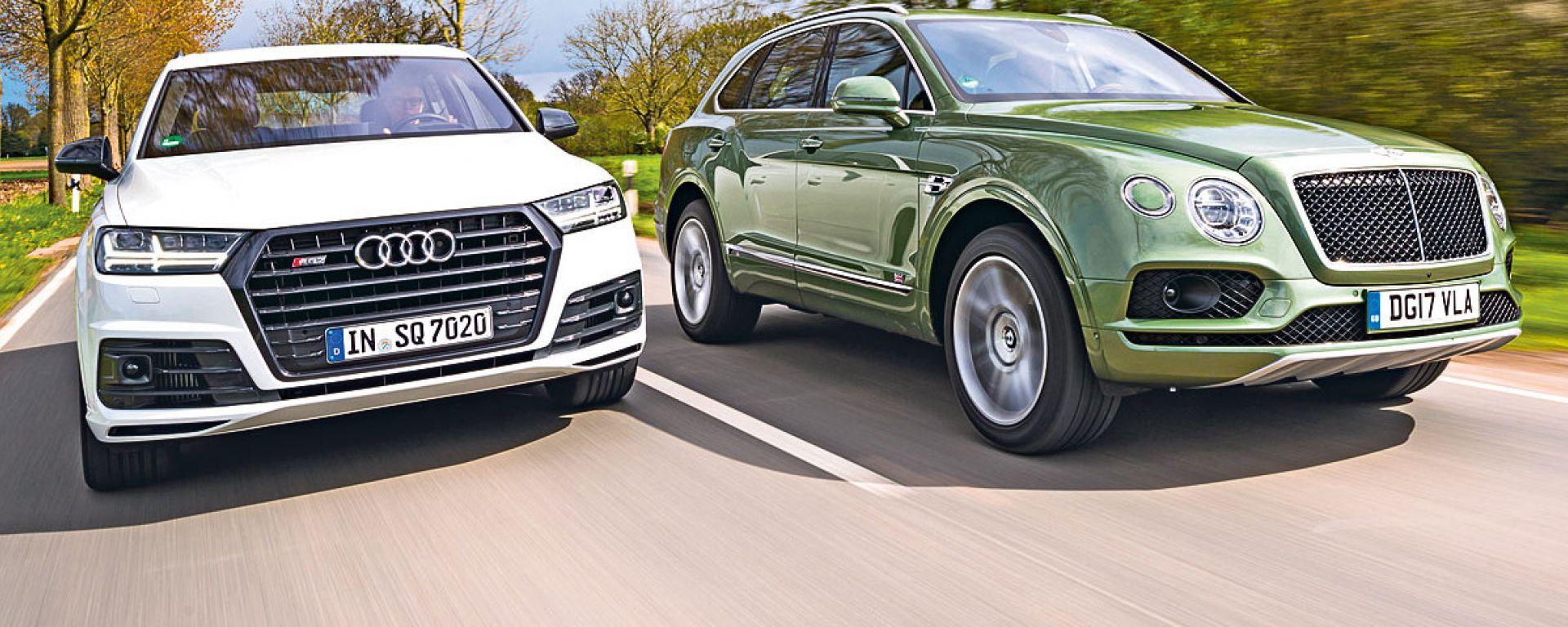Audi Q7, Bentley Bentayga: sempre più parenti stretti