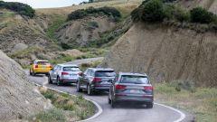 Audi Q7 e-tron e le sorelle in viaggio verso Matera
