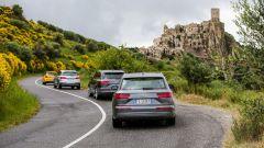 Audi Q7 e-tron sulle strade della Basilicata