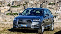 Audi Q7 e-tron, test-drive a Matera