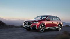 Audi Q7: il frontale