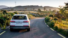 Audi Q7, il posteriore