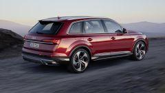 Audi Q7: vista 3/4 posteriore
