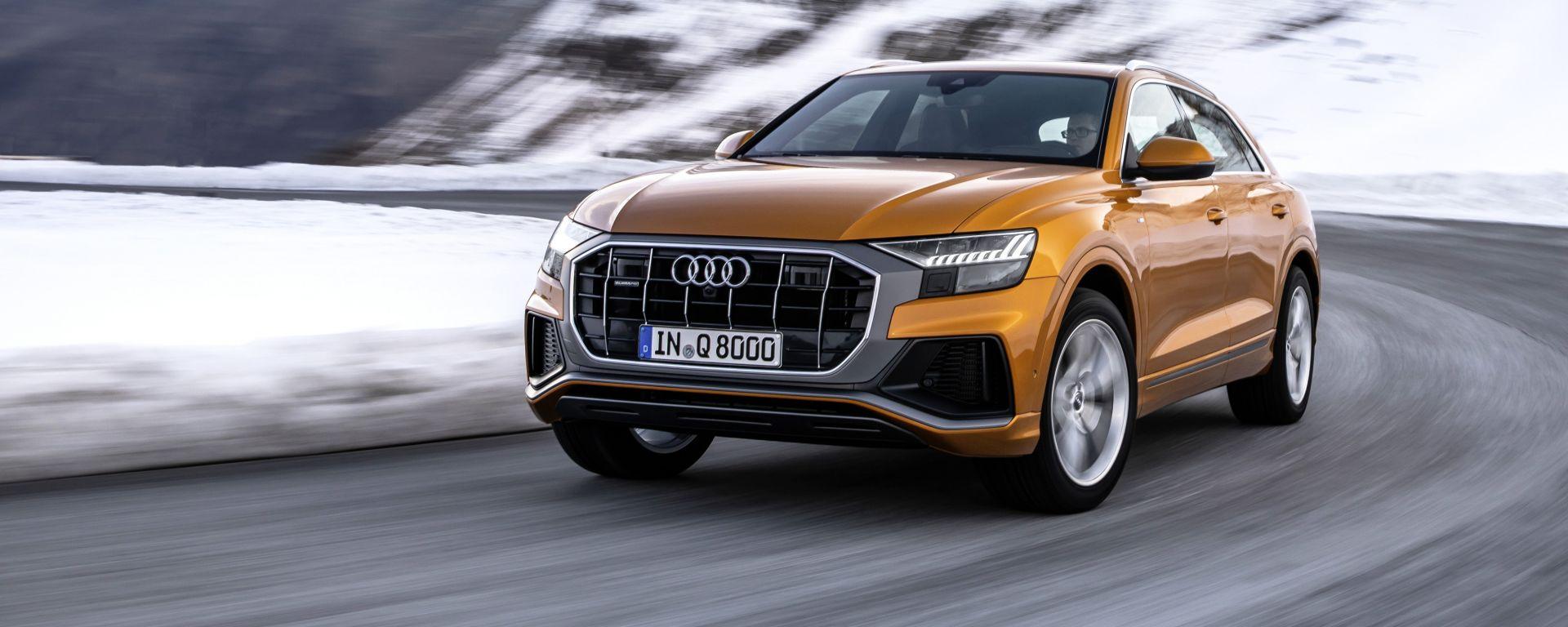 Audi Q8 2019: due nuove motorizzazioni a 6 cilindri in gamma