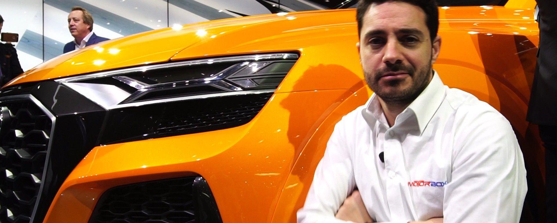 Audi Q8 al Salone di Ginevra 2017