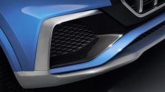 Audi Q8 concept: dettaglio della presa d'aria anteriore