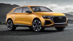 Audi Q8 Concept: è lunga 5,03 metri e larga più di 2