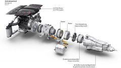 Audi Q8 concept: il motore elettrico è integrato nel cambio