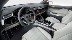 Audi Q8 concept: la strumentazione è tutta digitale