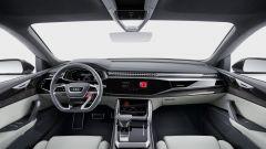 Audi Q8 concept: panoramica della plancia