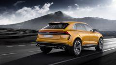 Audi Q8 Concept: sotto il portellone si nascondono 630 litri per il bagagliaio