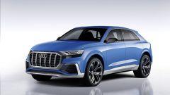 Audi Q8 concept: vista 3/4 anteriore