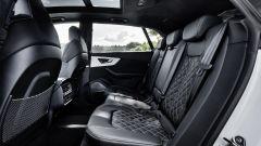 Audi Q8 e quattro plug-in hybrid: sedile posteriore