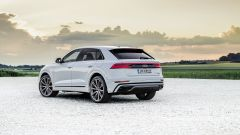 Audi Q8 e quattro plug-in hybrid: vista posteriore