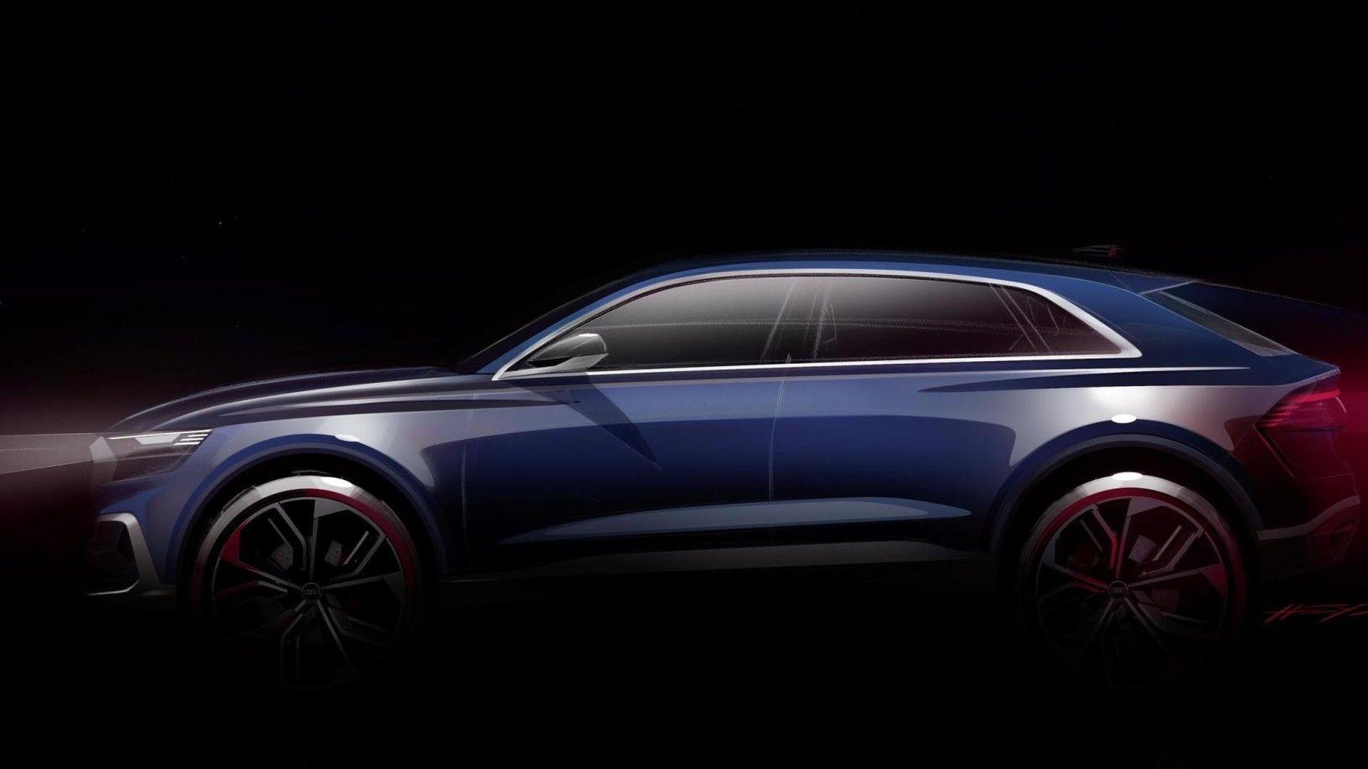 Salone Di Detroit 2017 Audi Q8 E Tron Debutto Al Salone