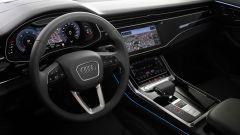 Audi Q8: la digitalizzazione è totale
