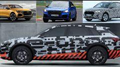 Audi Q8, nuova Q3 2018 e e-tron: ecco quando escono - Immagine: 1