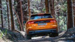 Audi Q8: per l'offroad ci sono settaggi specifici e un'altezza da terra fino a 25 cm