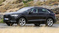 Audi Q8: uscirà a dicembre