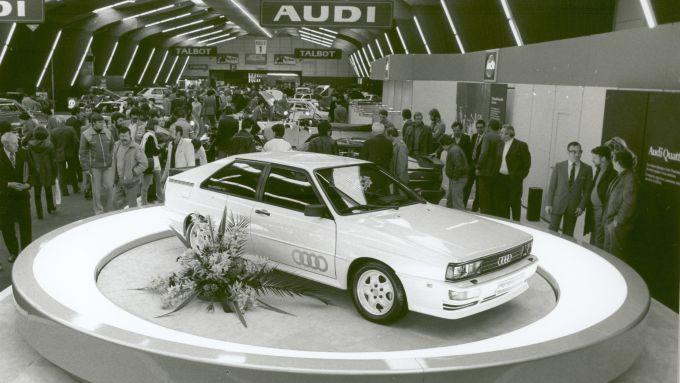 Audi quattro, dove tutto ebbe inizio