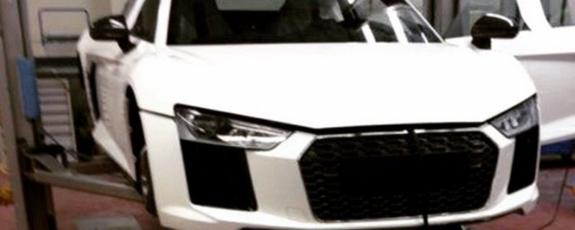 Audi R8 2015: sarà così?