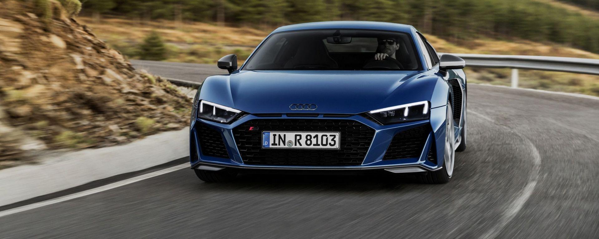 Audi R8 2018: la supercar con la cravatta