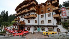 Audi R8 Dolomiti tour: la partenza