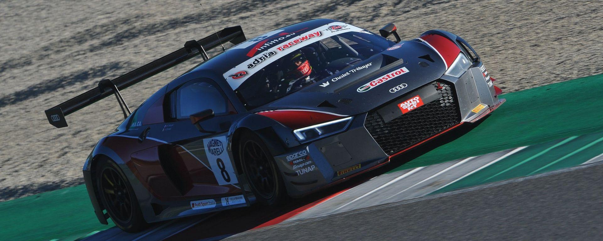 Audi R8 LMS - Campionato GT Italiano 2017