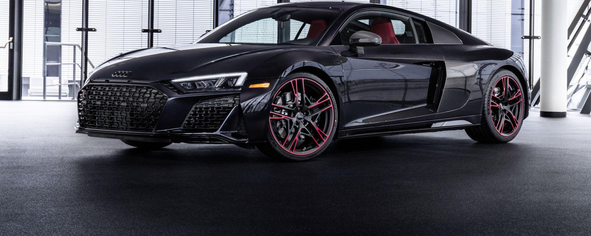 Audi R8 Panther Edition, serie limitata acchiappasguardi