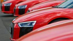 Audi R8 Plus: dettaglio faro