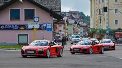 Audi R8 Plus: gruppo, 3/4 anteriore