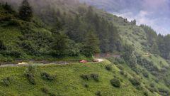 Audi R8 Plus: alla frusta sulle Dolomiti - Immagine: 10