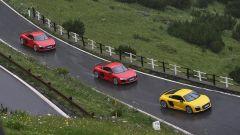 Audi R8 Plus: alla frusta sulle Dolomiti - Immagine: 16