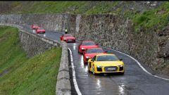 Audi R8 Plus: alla frusta sulle Dolomiti - Immagine: 18