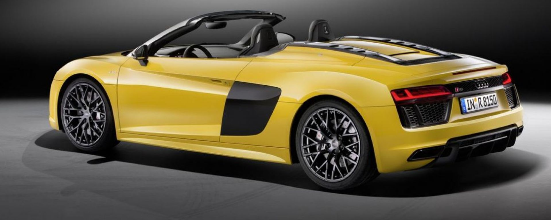 Audi R8 Spyder V10 2016