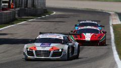 Audi R8 ultra sul Circuito di Monza - Campionato Italiano GT 2017